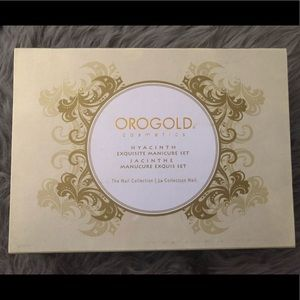 🍄2/$80 Orogold Cosmetics Manicure Set